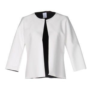 CENTOQUATTRO Women's White Blazer
